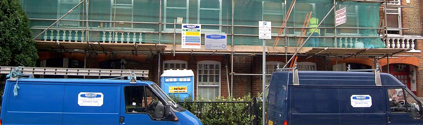 Moffatt construction banner